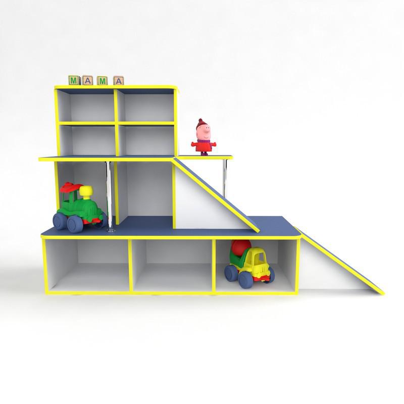 Ігрова меблі Автосалон, зона для ігор в дитячому садку