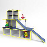 Ігрова меблі Автосалон, зона для ігор в дитячому садку, фото 2