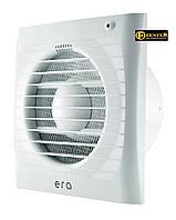 Вентилятор осевой вытяжной D125мм,обратный клапан,ERA 4С, Эра 60-702