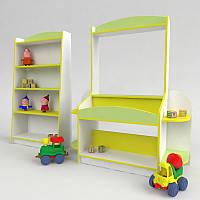 """Детская игровая стенка """"Магазин"""". Мебель для детского сада"""