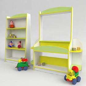 Детская игровая стенка Магазин. Мебель для садика