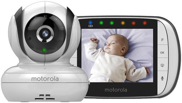 Видеоняня Motorola MBP36S, яркий цветной экран 3,5 дюйма