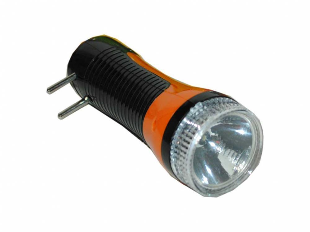 Фонарь YJ-0929 1 led  аккумуляторный