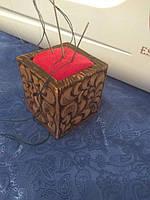 Игольница из дерева