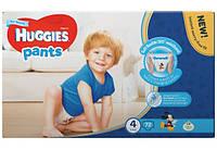 Хаггіс Літтл Вокерс Трусики-Підгузник для мальчиков 4 (9-15 кг), 72 штук, фото 1