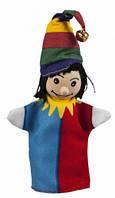 Клоун, кукла для пальчикового театра, Goki (SO401G-8)