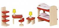 Мебель для детской комнаты, набор для кукол, Goki (51719G)
