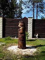 "Деревянная скульптура ""Баба Яга"", фото 1"