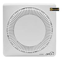 Вентилятор осевой вытяжной D100мм,обратный клапан,DISC, Эра 60-653