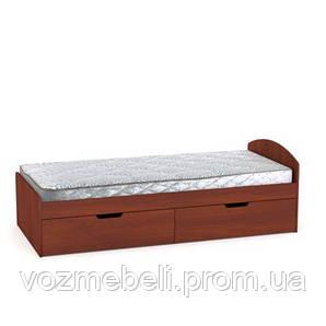 Кровать односпальная 90+2