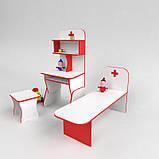 Мебель для детского сада игровая Больница со стулом, фото 2