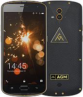 """Смартфон AGM X1 4/64Gb Gold, IP68, 13+13/5Мп, 8 ядер, 2sim, экран 5.5"""" SAMOLED, 5400mAh, 4G, фото 1"""