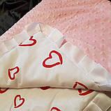 Плед для новонародженого на виписку. Ковдра в коляску, фото 4