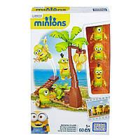 Мега Блокс Конструкто Миньоны Банановый остров Mega Construx Minions Movie Banana Island Building Set