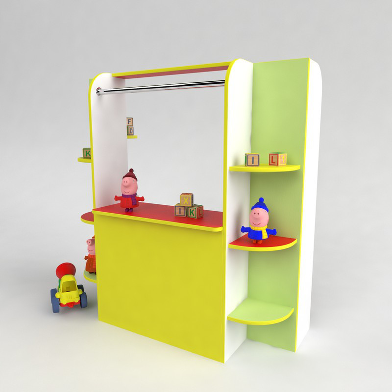 Детская игровая стенка Кукольный театр для садика от производителя