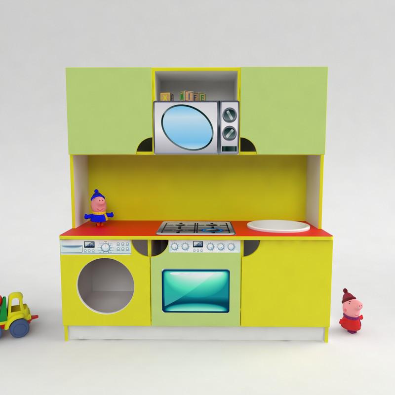 Дитяча ігрова кухня Малютка від виробника