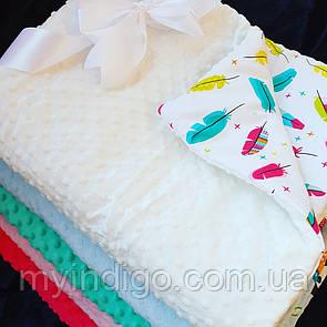 Плед для новорожденного на выписку. Одеяло в коляску