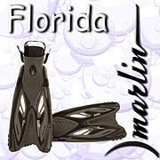 Ласты для дайвинга Marlin Florida Black