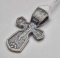 Крестик серебряный нательный