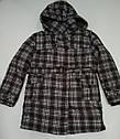 Куртка  для мальчика удлиненная в клетку (QuadriFoglio, Польша), фото 2