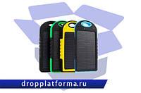 Power Bank SOLAR 20000mAh с солнечной зарядкой