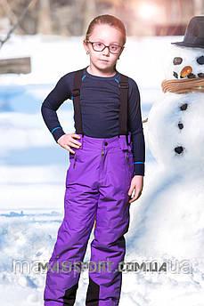 Копія Детские лыжные брюки TF 6708 Violet