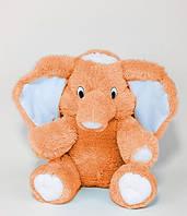 Плюшевый Слон 55 см медовый