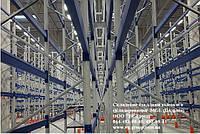 Cкладские стеллажи высокого складирования. Палетные стеллажи. Стеллажи для склада, фото 1