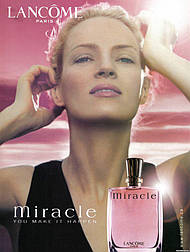 Lancome Miracle edp 100 ml TESTER  парфумированная вода женская (оригинал подлинник  Франция)