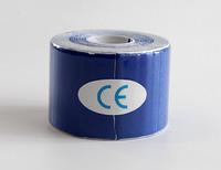 Кинезио тейп Kinesio tape DL NYLON 5 см х 5 м НЕЙЛОН синий