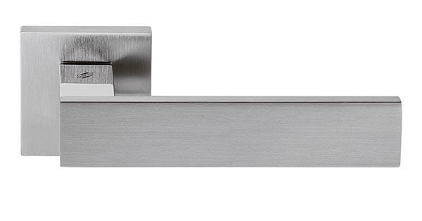 Ручка дверная COLOMBO ALBA LC 91 хром/матовый хром