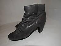 Janet D._Германия, кожа, красивые качественные ботинки 37р ст.24см H02