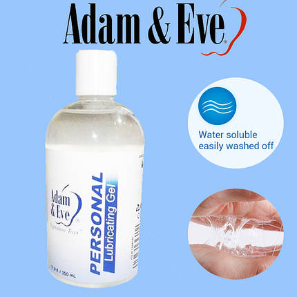 Смазка интимная Adam & Eve Original 350 ml классическая на водной основе, фото 2