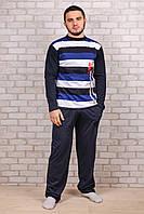 Мужской хлопковый костюм для дома Турция Night Angel E-0017 XL/XXL. Размер 52-54.