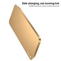 Беспроводная Зарядка Baseus multifunctional wireless charging Pad Gold