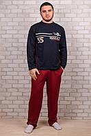 Мужской хлопковый костюм для дома Турция Night Angel E-0014 M/L. Размер 48-50.