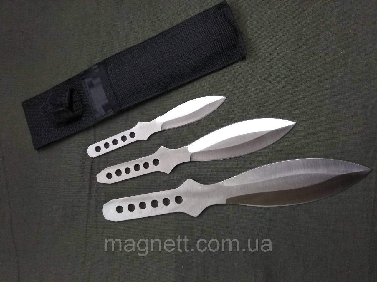Набор метательных ножей в чехле (3шт)