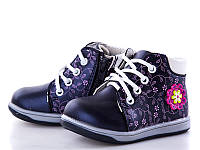 Детская демисезонная обувь оптом. Осенние ботинки для девочек от ТМ. EeBb ( рр. с 21 по 26 ).