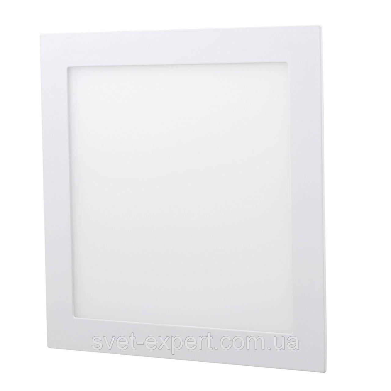 Светильник LED-S-300-24 24Вт 6400К квадр. встроенный 300мм
