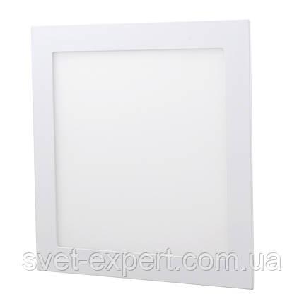 Светильник LED-S-300-24 24Вт 6400К квадр. встроенный 300мм, фото 2