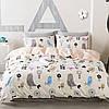Комплект постельного белья Нежные птицы (двуспальный-евро) Berni