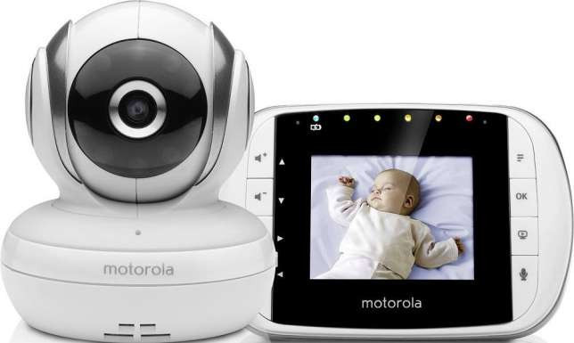 Видеоняня Motorola MBP33S, яркий цветной экран2,8 дюйма