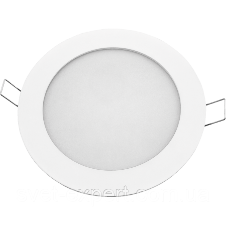 Navigator 94346 NLP-R1-10W-R180-840-WH-LED встраиваемый круглый белый светильник 10W/840
