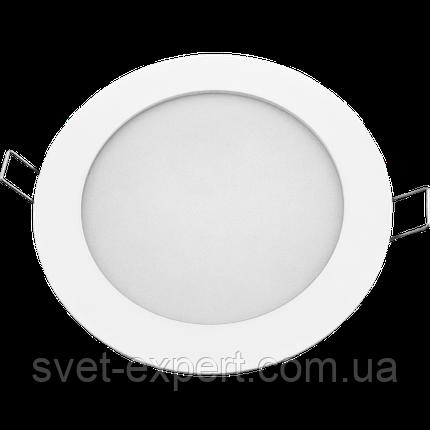Navigator 94346 NLP-R1-10W-R180-840-WH-LED встраиваемый круглый белый светильник 10W/840, фото 2