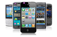Мобильные телефоны, смартфоны, кнопочные моноблоки, раскладушки и слайдера