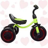 Трехколёсный велосипед с подсветкой колесTurbotrike M 3649-M-1 Салатовый