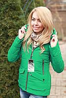 Куртка женская трансформер весна - осень модная
