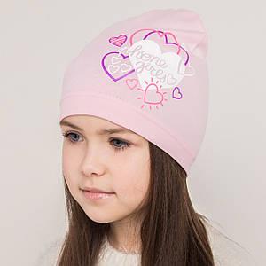 Весенняя шапка для девочек сезон 2018 оптом - Артикул 2181