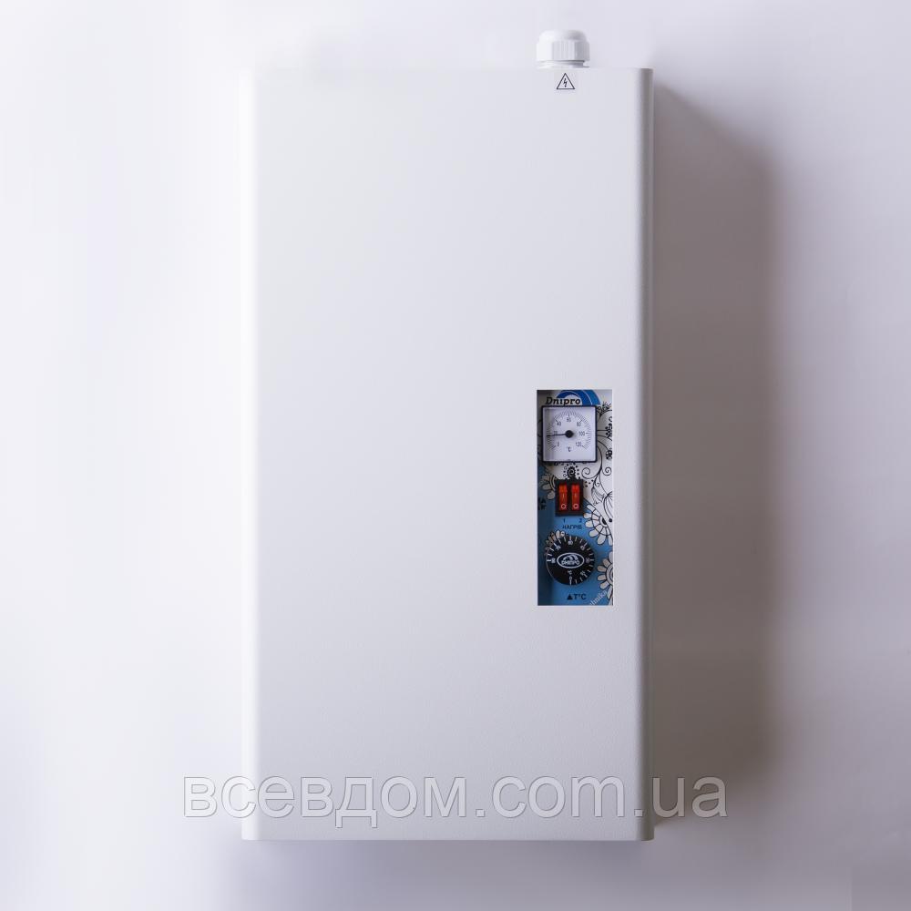 Котел электрический Днипро КЭО 6 кВт 380В с насосом