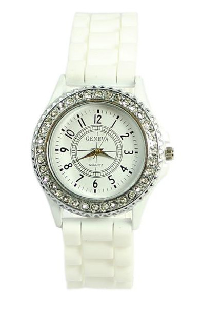 03ea79c6146a Часы Женские GENEVA Luxury Женева Белые — в Категории